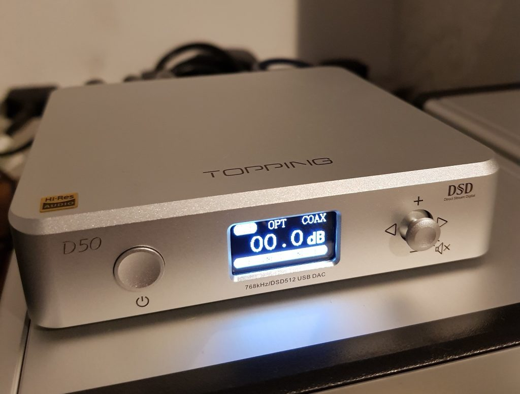 Topping D50 DAC Review